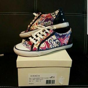 Coach sneaker shoe